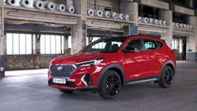 Video of the Hyundai Tucson N-Line reveal.