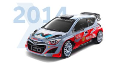 Hyundai i20 Coupe WRC 2014 model