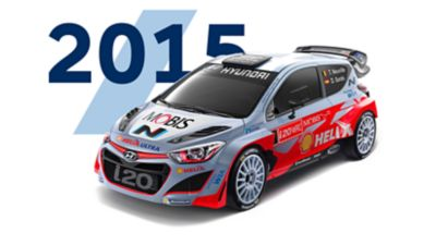 Hyundai i20 Coupe WRC 2015 model