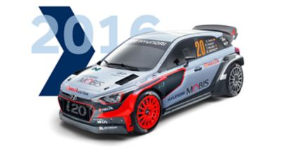 Hyundai i20 Coupe WRC 2016 model