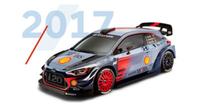 Hyundai i20 Coupe WRC 2017 model
