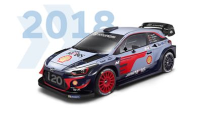 Hyundai i20 Coupe WRC 2018 model