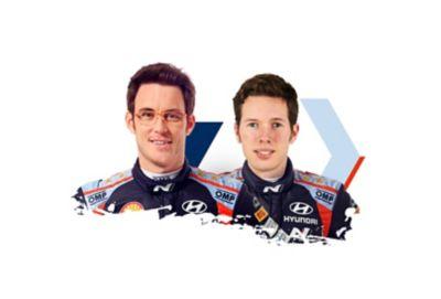 Hyundai Motorsport driver Thierry Neuville & co-driver Martijn Wydaeghe