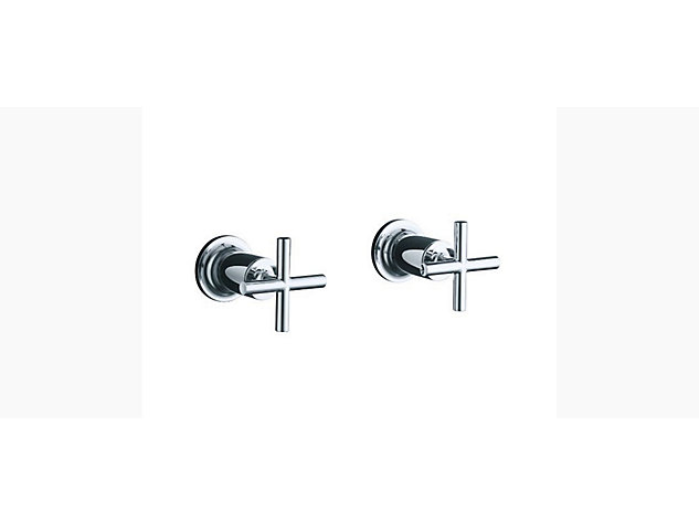 Purist Wall-mount bath valve kit lever handle