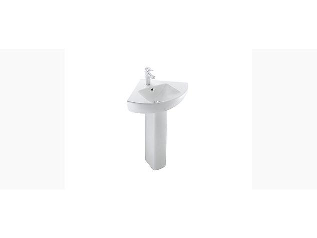 Reach 500mm Corner Washbasin Vanity top