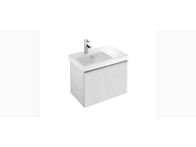 Reach Base unit for 650mm Washbasin Vanity top 1 drawer