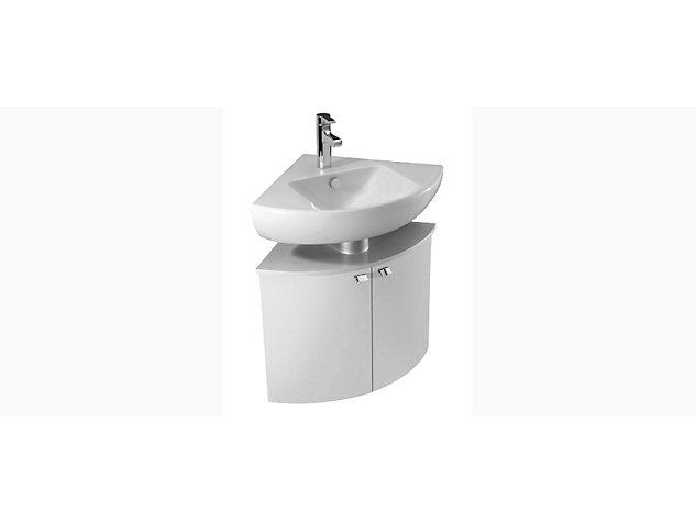 Reach Base unit for Corner Washbasin Vanity top 2 doors