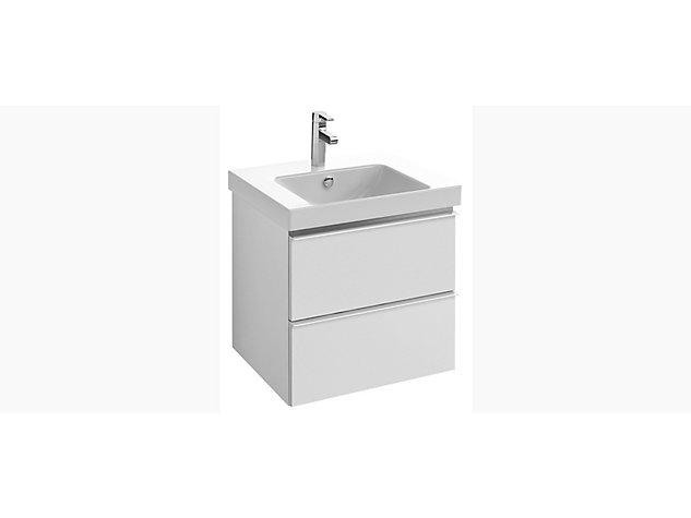 Reach Base unit for 600mm Washbasin Vanity top 2 drawer