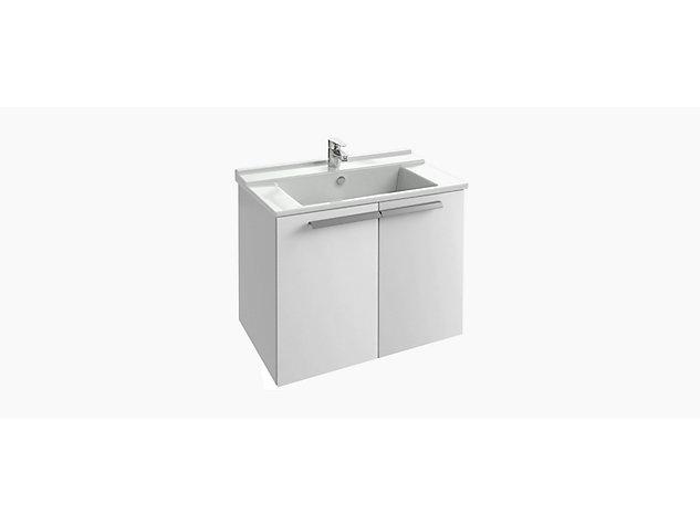 Base unit for 800mm Washbasin Vanity top 2 door