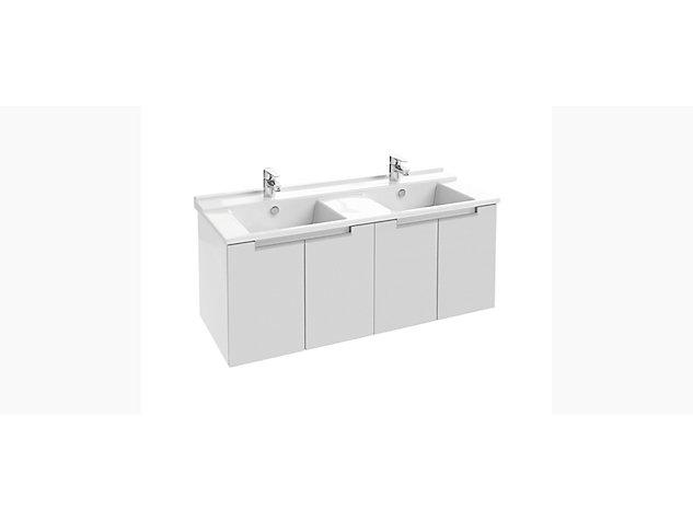 Base unit for 1200mm Washbasin Vanity top 4 door