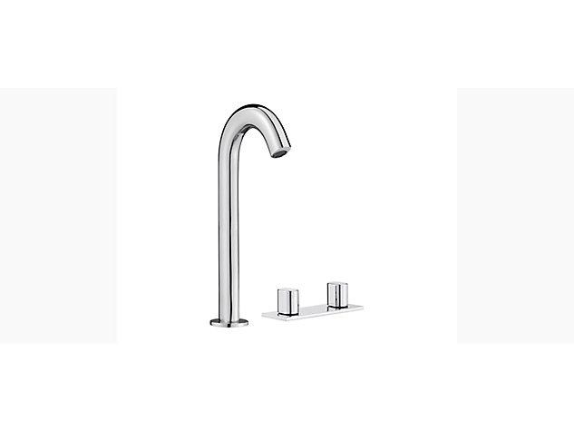 Oblo Tall 2-handle 3-hole basin mixer