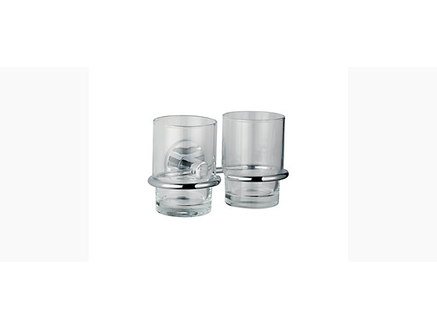 Cross range Double tumbler and holder