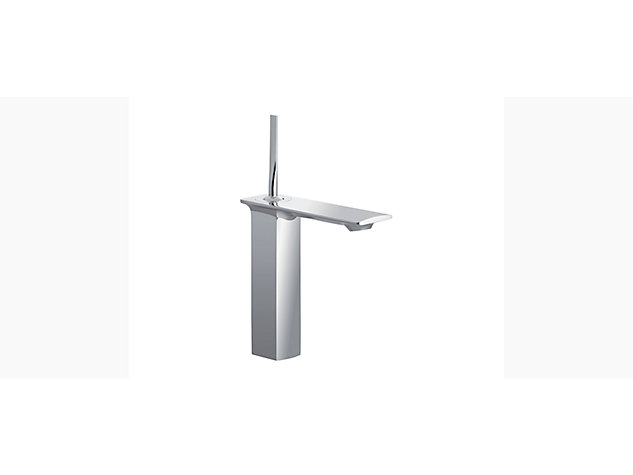 Stance Tall single-lever monobloc basin mixer with clicker waste