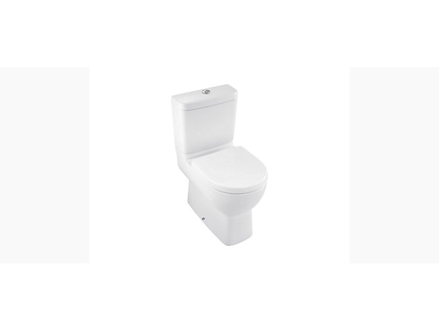 Reach Comfort Height Concealed Compact Close Coupled toilet pan