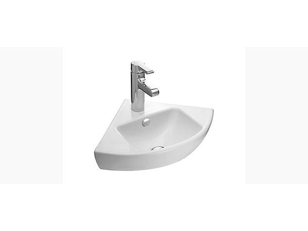 Reach 340mm Corner hand wash basin