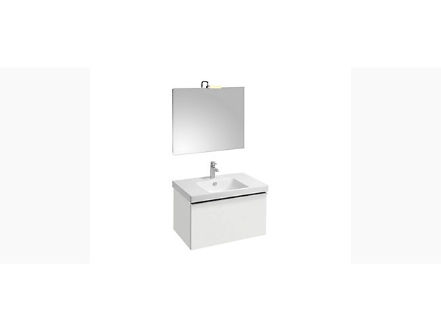 Reach Base unit for 800mm Washbasin Vanity top 1 drawer