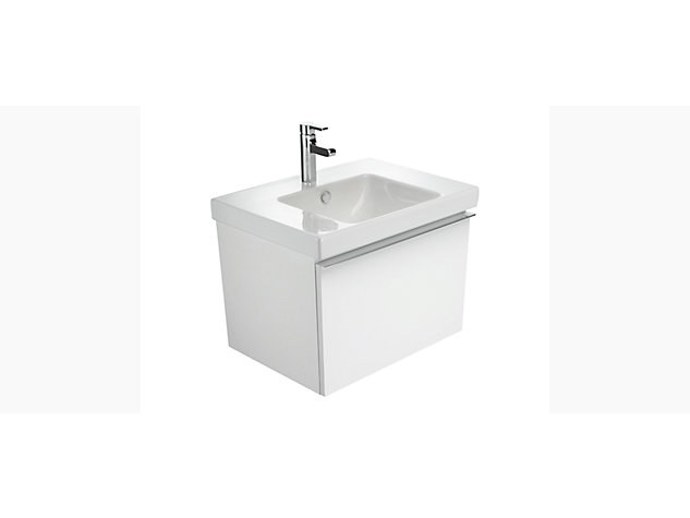 Reach Base unit for 700mm Washbasin Vanity top 1 drawer
