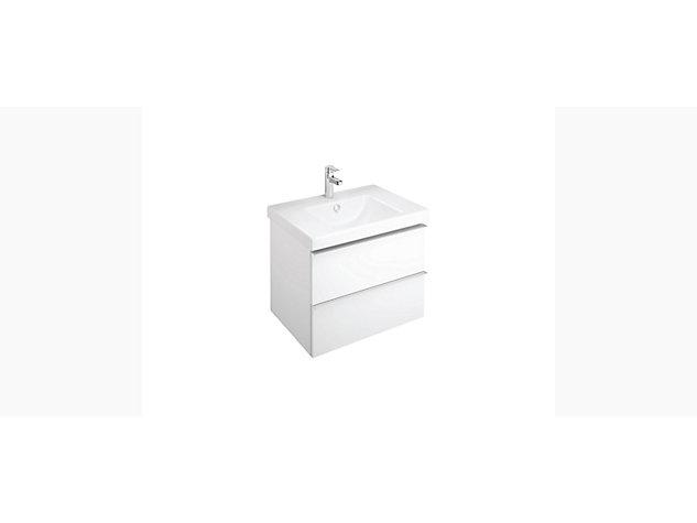 Reach Base unit for 700mm Washbasin Vanity top 2 drawer