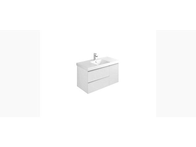 Reach Base unit for 1050mm Washbasin Vanity top 2 drawer