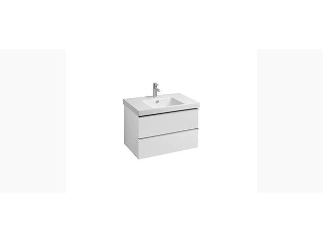 Reach Base unit for 800mm Washbasin Vanity top 2 drawer