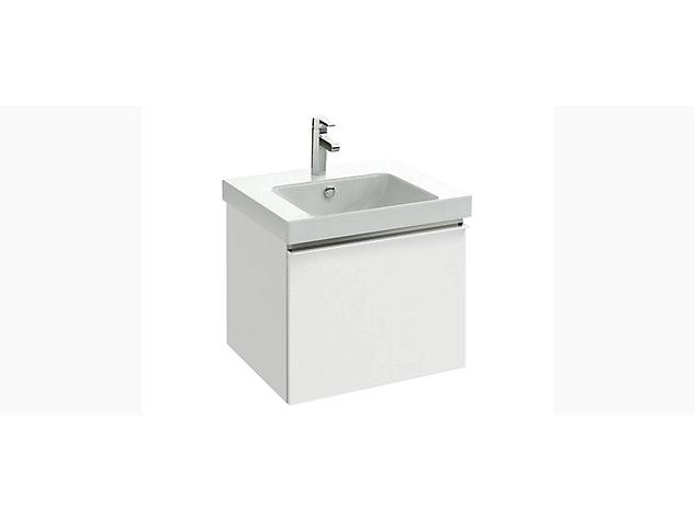 Reach Base unit for 600mm Washbasin Vanity top 1 drawer
