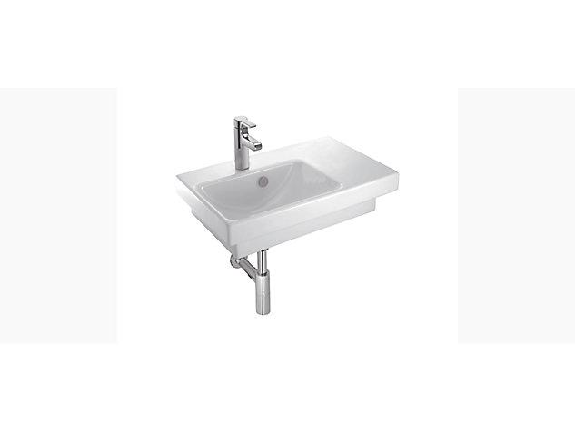 Reach 650mm Washbasin Vanity top left hand