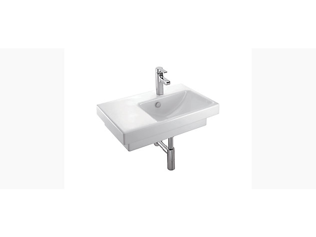 Reach 650mm Washbasin Vanity top right hand