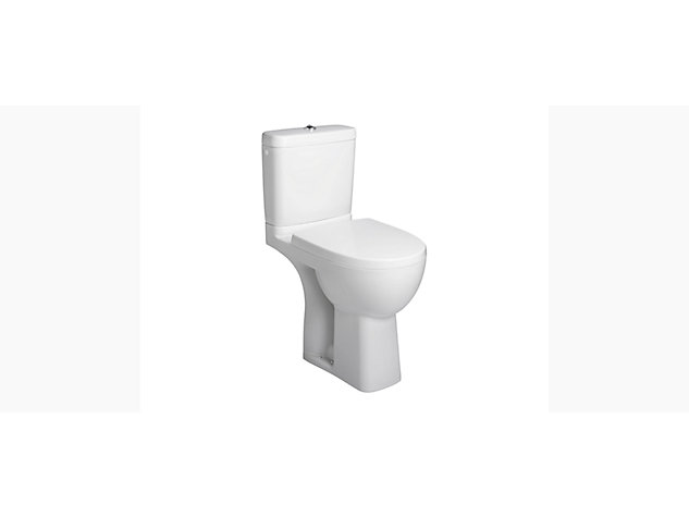 Reach Comfort Height Close Coupled toilet pan