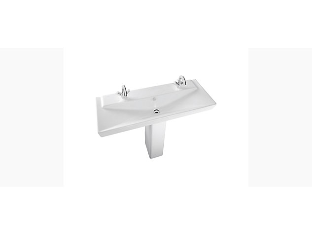 Reve 1200mm Washbasin Vanity top 2 tap holes