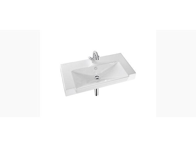 Reve 800mm Compact Washbasin Vanity top