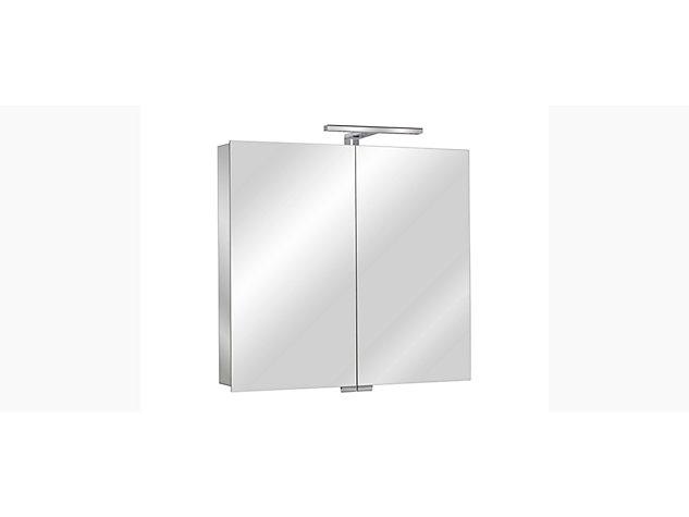 Moonlight 800mm mirrored cabinet