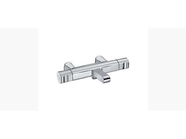 Singulier Thermostatic 2-handle 2-hole deck-mount bath shower mixer