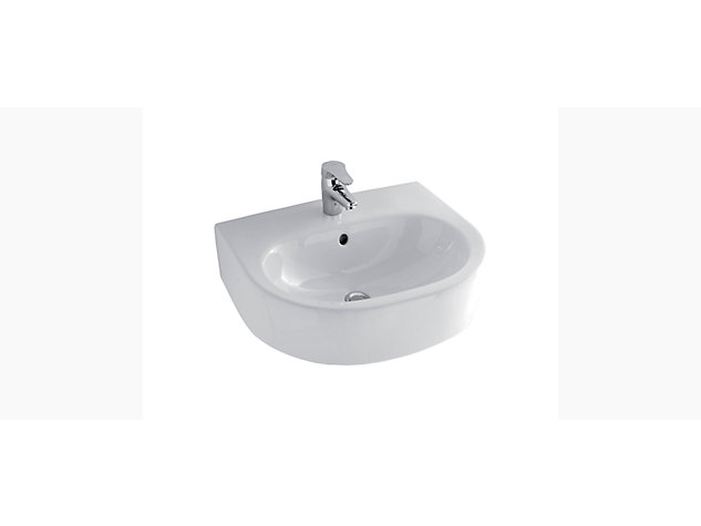 Candide 560mm Semi-recessed basin