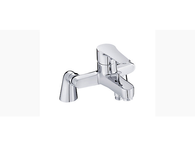 July Single-lever deck-mount bath shower mixer