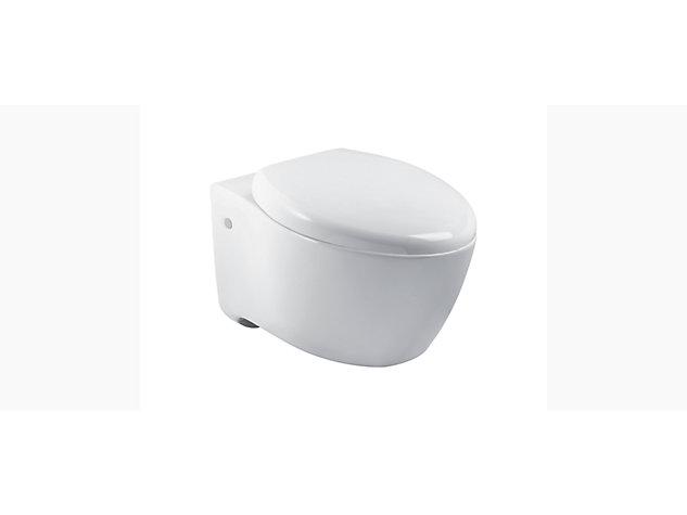 Via Elongated Wall Hung toilet pan