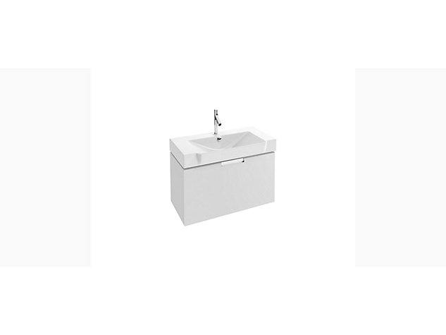 Reve Base unit for 800mm Compact Washbasin Vanity top 1 drawer