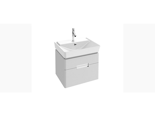 Reve Base unit for 600mm Washbasin Vanity top 2 drawer