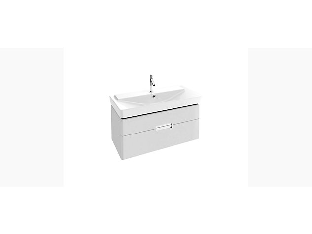 Reve Base unit for 1000mm Washbasin Vanity top 2 drawer