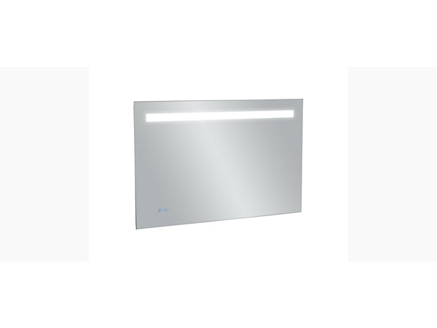 Cross range 1000mm Backlit Anti-steam mirror with clock