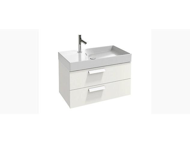 Rythmik Base unit for 800mm Vanity top 2 drawer