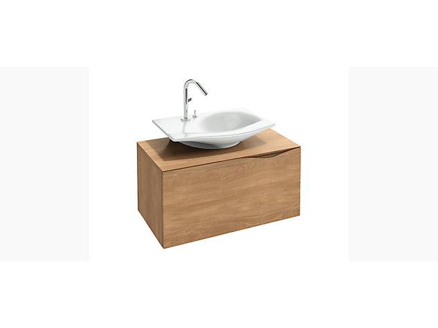 Stillness 800mm base unit for 600mm Washbasin Vanity top 1 drawer 1 internal drawer