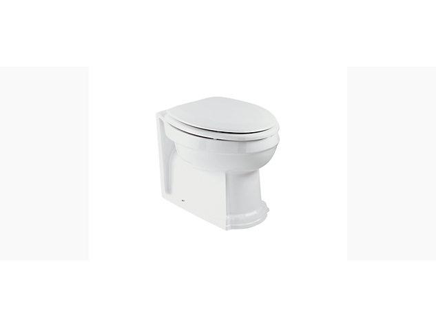 Devonshire and Tresham Back-to-wall vario toilet pan