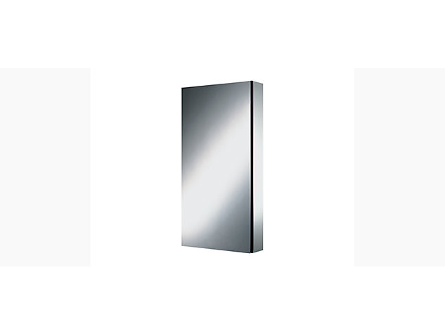 Series M 591mm mirrored cabinet plain