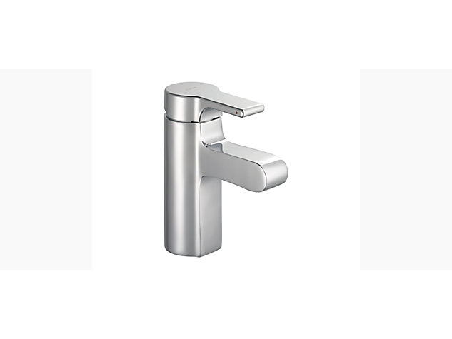 Singulier Single-lever monobloc bath filler