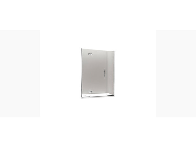 Minima 1500mm Hinged Door with In-Line Panel