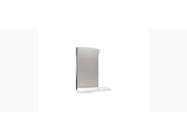 Skyline 1700mm walk-in enclosure without end panel