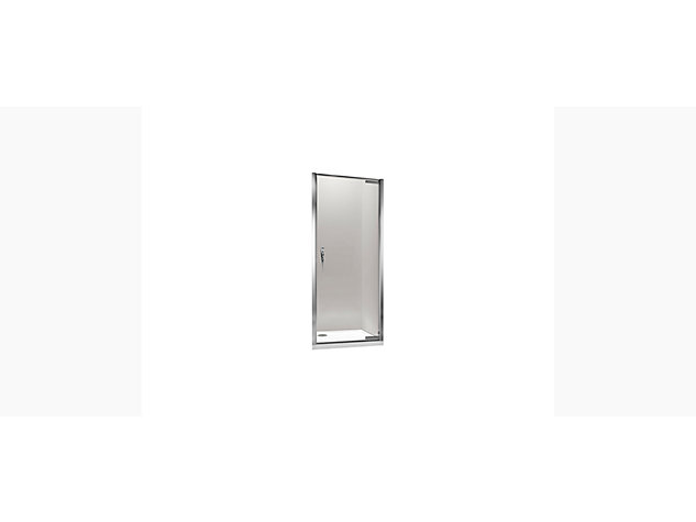 Torsion 1200mm Hinged Door with geometric handle