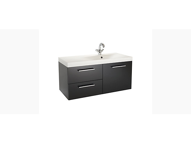 Idol 1000mm Vanity top right hand configuration