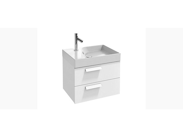 Rythmik Base unit for 600mm Vanity top 2 drawer