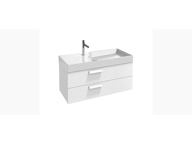 Rythmik Base unit for 1000mm Vanity top 2 drawer